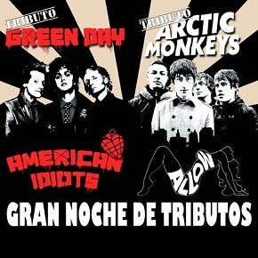 Noche de tributos. American Idiot + Allow