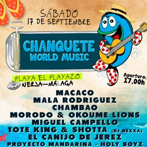 Nace un nuevo festival, Chanquete World Music