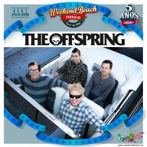 Weekend Beach confirma The Offspring para julio de 2018